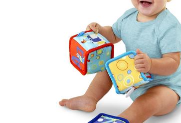 Bright Starts嬰兒專用布積木 – 亞馬遜Baby熱銷商品推薦