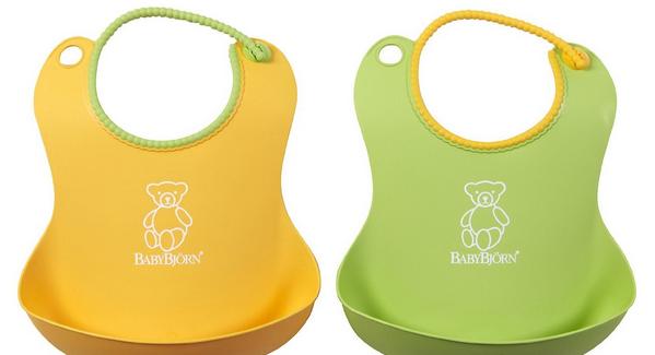BabyBjörn軟膠防碎屑圍兜 – 亞馬遜Baby熱銷商品推薦