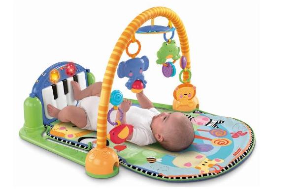 費雪小鋼琴家音樂腳踏墊 – 亞馬遜Baby熱銷商品推薦