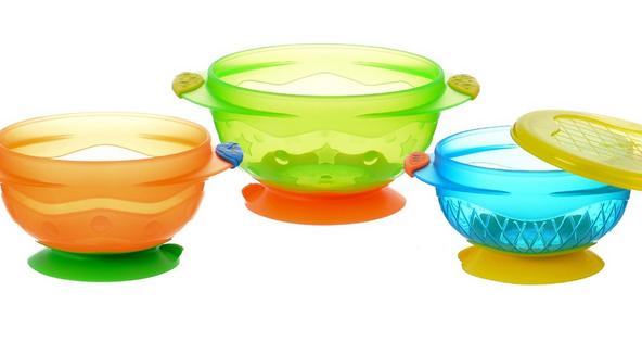 Munchkin吸盤碗餐盤組 – 亞馬遜Baby熱銷商品推薦