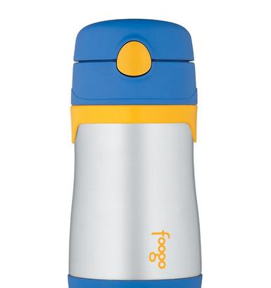 Thermos膳魔師 Foogo不鏽鋼兒童學習杯(藍) – 亞馬遜Baby熱銷商品推薦