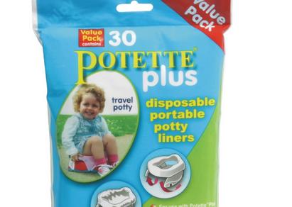 Kalencom寶寶外出家用二合一折疊式馬桶專用防漏塑膠袋– 亞馬遜Baby熱銷商品推薦