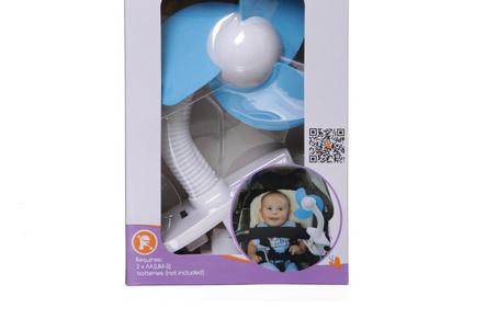 Dreambaby嬰兒車夾風扇 – 亞馬遜Baby熱銷商品推薦