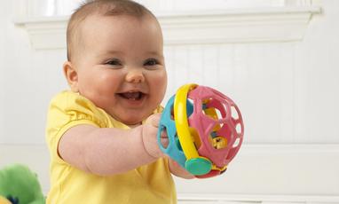 小小愛因斯坦嬰兒球鈴 – 亞馬遜Baby熱銷商品推薦