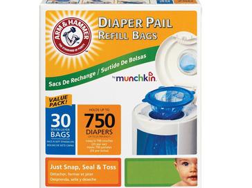 Munchkin尿布垃圾桶垃圾袋 – 亞馬遜Baby熱銷商品推薦