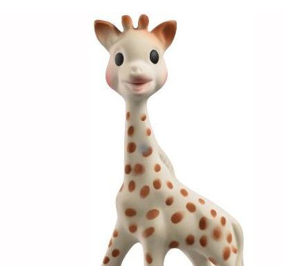 蘇菲長頸鹿固齒器 – 亞馬遜Baby熱銷商品推薦