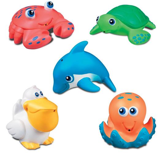Munchkin海底動物漂浮玩具 – 亞馬遜Baby熱銷商品推薦