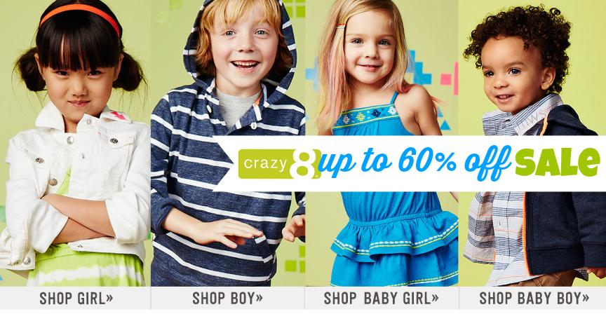 Crazy 8 註冊帳號~ 網站購物教學